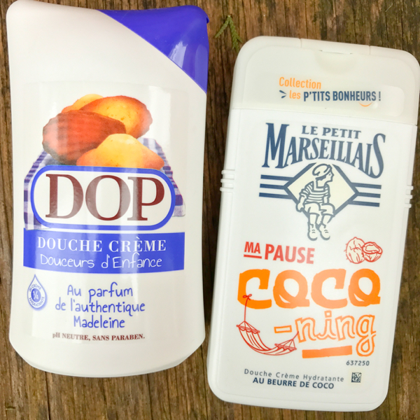 DOP and Petit Marseillais body wash Souvenirs from France on eatlivetravelwrite.com
