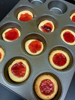 French jam tarts made by kids on eatlivetravelwrite.com