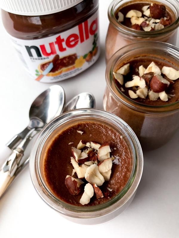 Nutella pots de creme for World Nutella Day 2017 on eatlivetravelwrite.com