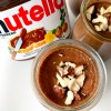 Pots de creme with Nutella on eatlivetravelwrite.com