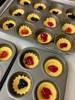 Jam tarts by kids ready for the oven on eatlivetravelwrite.com
