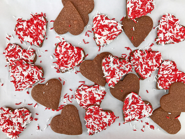 Dorie Greenspan Share a Heart Cookies on eatlivetravelwrite.com