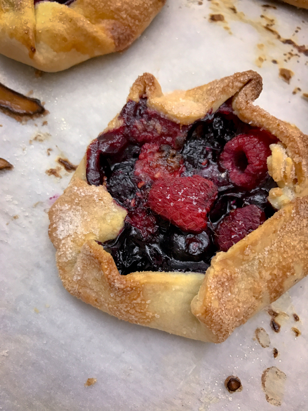 Mini berry galettes made by Les Petits Chefs on eatlivetravelwrite.com