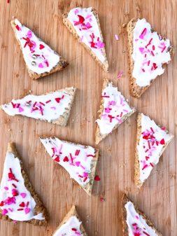 Dorie Greenspan hibiscus shortbread from Dories Cookies on eatlivetravelwrite.com