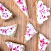 Dorie Greenspan hibiscus shortbread from Dories Cookies for Tuesdays with Dorie on eatlivetravelwrite.com