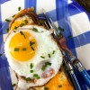 Croque Monsieur on eatlivetravelwrite.com