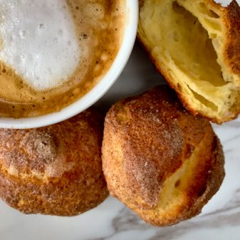 Tuesdays with Dorie Nuns Beignets image on eatlivetravelwrite.com