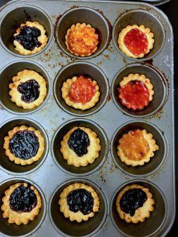 Kids French jam tarts on eatlivetravelwrite.com