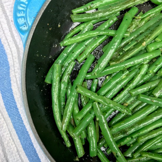 David Lebovitz Green beans with snail butter from My Paris Kitchen on eatlivetravelwrite.com