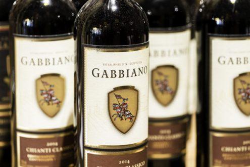 Castello di Gabbiano wine bottles image on eatlivetravelwrite.com