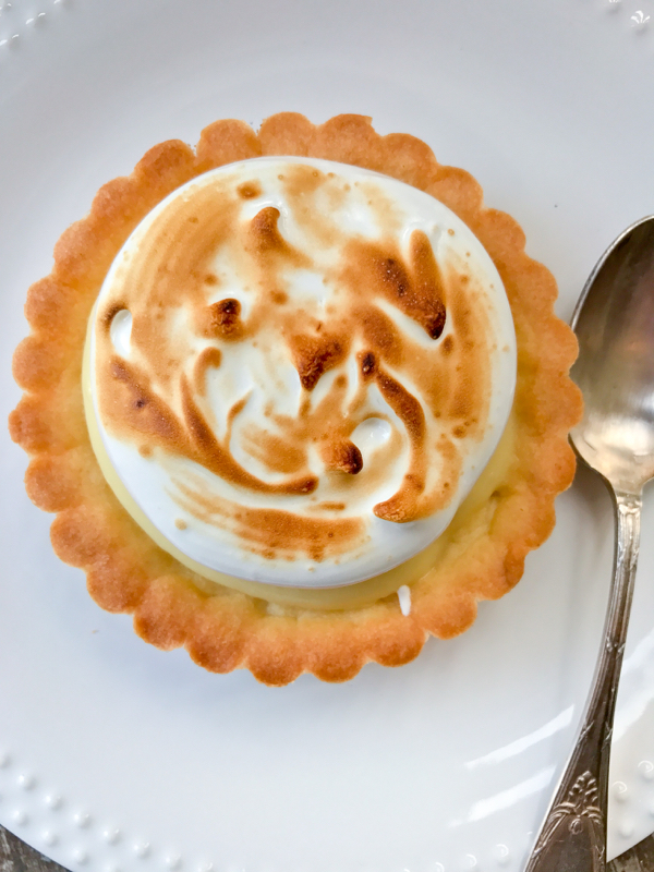 Dorie Greenspan's lemon meringue tart from Baking Chez Moi for Tuesdays with Dorie image on eatlivetravelwrite.com
