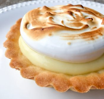 Dorie Greenspan's lemon meringue tart from Baking Chez Moi image on eatlivetravelwrite.com