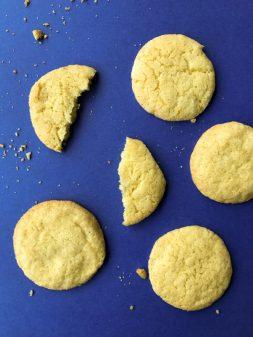 Dorie Greenspan Lemon sugar cookies image on eatlivetravelwrite.com