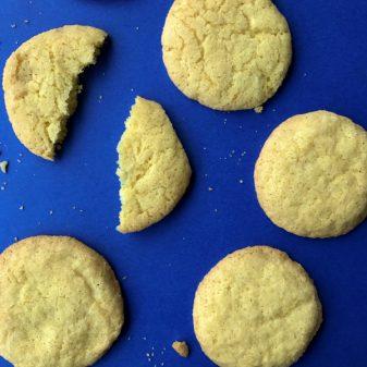 Lemon sugar cookies from Dories Cookies image on eatlivetravelwrite.com