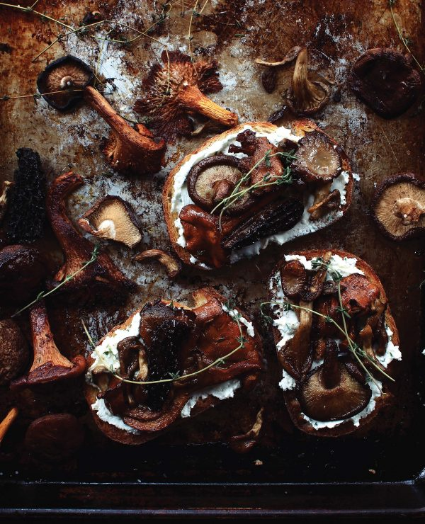 Wild Mushroom Toasts from FEAST on eatlivetravelwrite.com