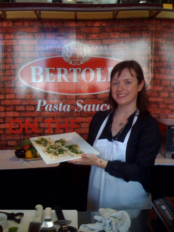 Bertolli demo in san Francisco on eatlivetravelwrite.com