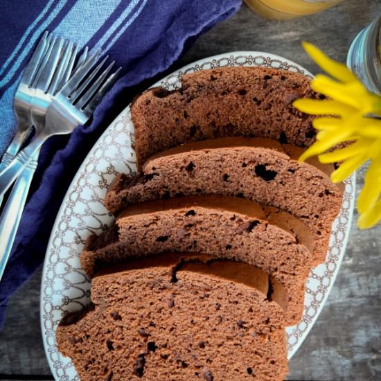 Chocolate coffee quickbread recipe on eatlivetravelwrite.com