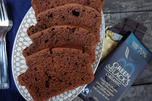 Green and Blacks chocolate coffee quickbread on eatlivetravelwrite.com