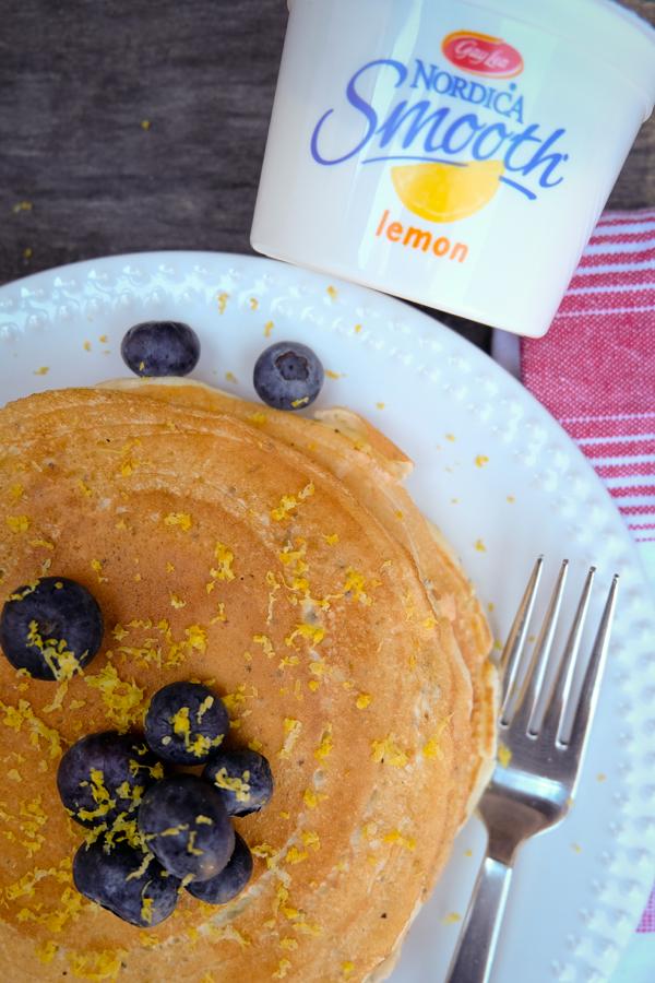 Lemon cottage cheese pancakes on eatlivetravelwrite.cm