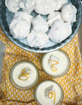 Walnut cookies and lemon mousse Scandinavian Comfort Food: Embracing the Art of Hygge on eatlivetravelwrite.com