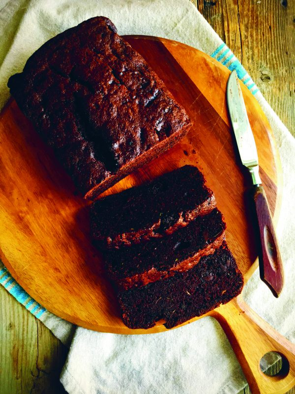 Double chocolate zucchini bread from All the Sweet Things on eatlivetravelwrite.com