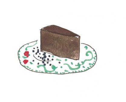 slice of cake from Dinner Chez Moi on eatlivetravelwrite.com