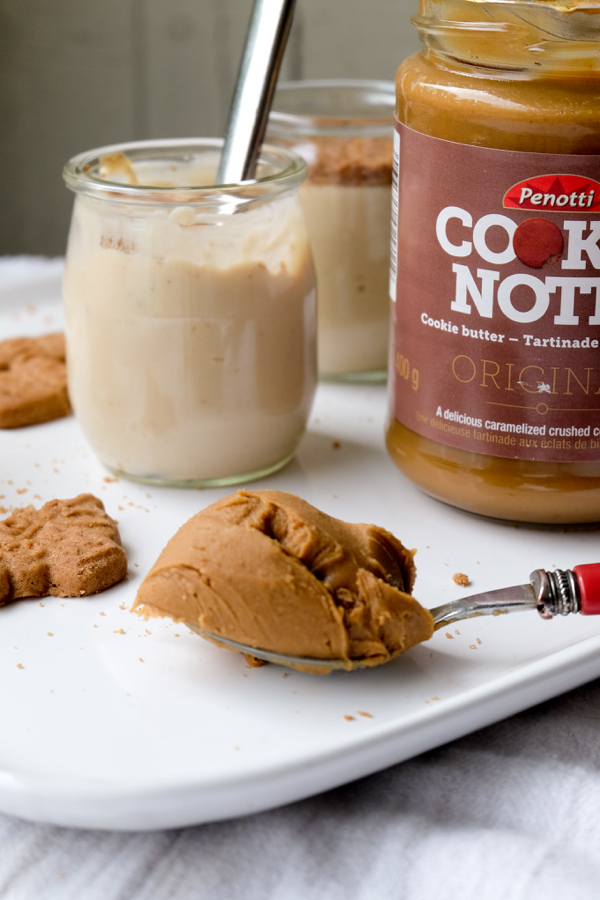 Penotti Cookie Notti spread and no bake pots de creme on eatlivetravelwrite.com