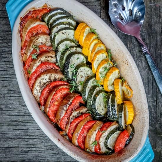Quick and easy ratatouille on eatlivetravelwrite.com