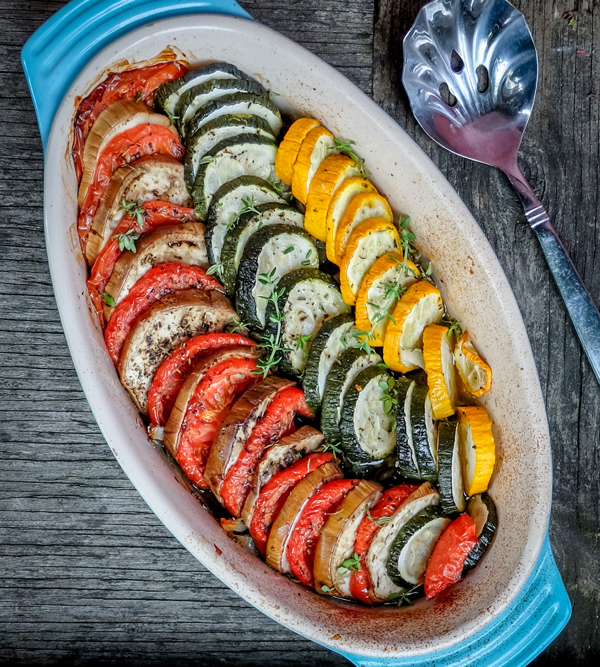 Quick and easy ratatouille on eatlivetravelwrite.com