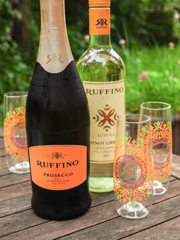 Ruffino Prosecco and Pinot Grigio on eatlivetravelwrite.com