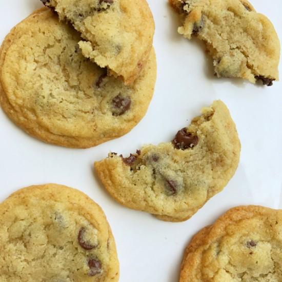 Dorie Greenspan favourite chocolate chip cookies on eatlivetravelwrite.com