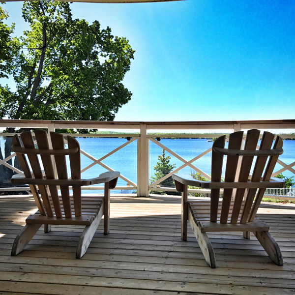 Stony Lake view at Viamede Resort on eatlivetravelwrite.com
