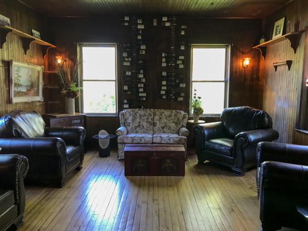 Lounge area at Mr Julian at Viamede Resort on eatlivetravelwrite.com