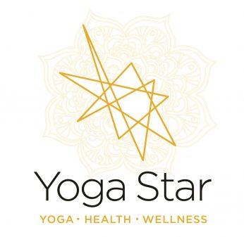Yoga star logo