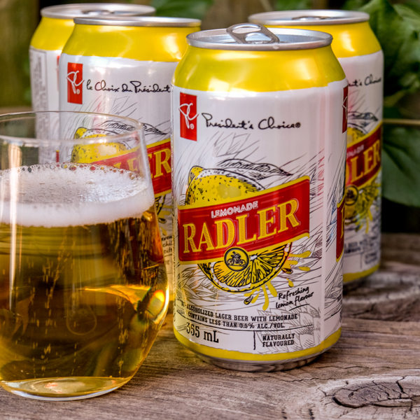 Presidents Choice lemonade radler on eatlivetravelwrite.com