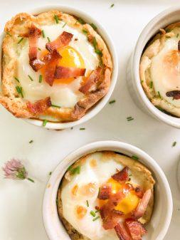 English muffin breakfast sandwich cups on eatlivetravelwrite.com