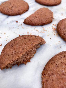 Dorie Greenspan coffee malted cookies on eatlivetravelwrite.com