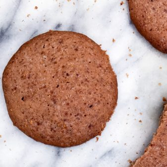 Dorie Greenspan chocolate malted cookies on eatlivetravelwrite.com