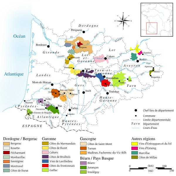 Vineyards of Southwest France on eatlivetravelwrite.com