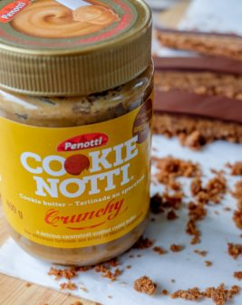 Penotti Cookie Notti Crunchy Cookie Butter Spread and Squares on eatlivetravelwrite.com