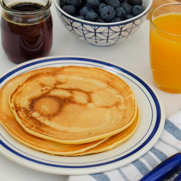 Ricotta pancakes on eatlivetravelwrite.com