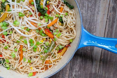 Quick and easy stir fry recipe on eatlivetravelwrite.com