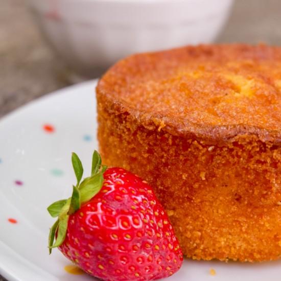 Dorie Greenspan Double Corn Tea Cake from Baking Chez Moi for Tuesdays with Dorie on eatlivetravelwrite.com
