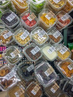 Supermarket snacks in Navarrete on Camino de Santiago on eatlivetravelwrite.com