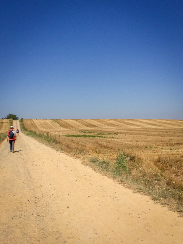 Hot weather walking on the Camino de Santiago on eatlivetravelwrite.com