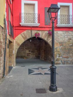 Leaving Najera on the Camino de Santiago on eatlivetravelwrite.com