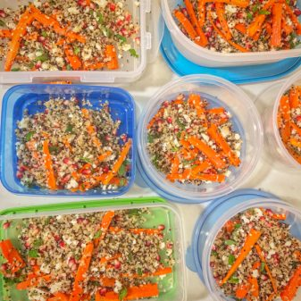 Carrot and Grain Salad from Jamie Oliver Quick and Easy Food on eatlivetravelwrite.com