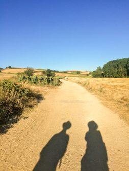 Shadows on the Camino Frances Day 12 Belorado to Villafranca Montes de Oca on eatlivetravelwrite.com