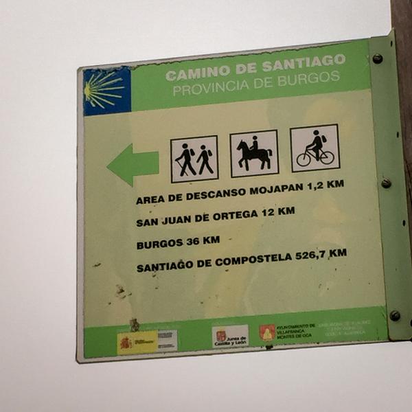 Headed to Burgos walking the Camino de Santiago Villafranca Montes de Oca to Atapuerca on eatlivetravelwrite.com