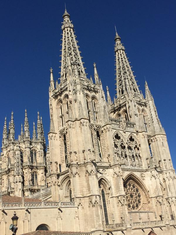 Burgos cathedral walking the Camino de Santiago on eatlivetravelwrite.com
